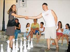 Σκάκι στην άμμο