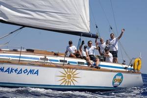 Άφιξη στο Καρλόβασι για την Aegean Regatta
