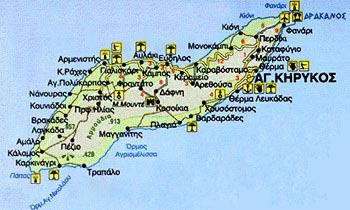 Χάρτης Χωριών