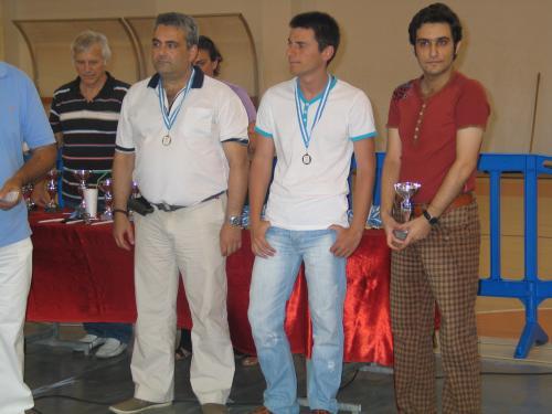 Οι τρεις πρώτοι νικητές