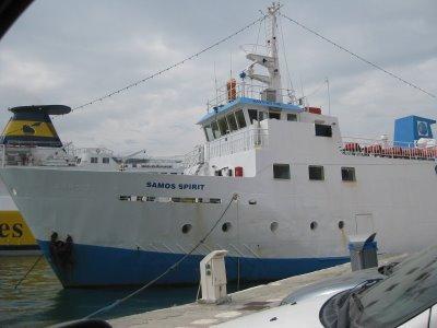 Υπόμνημα του ΕΚΣ για την επίσχεση ναυτεργατών του Samos Spirit