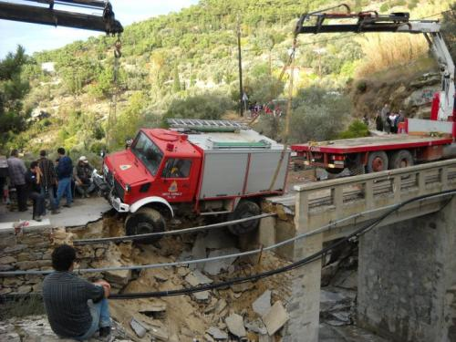 Συνεχίζονται τα έργα αποκατάστασης στην Ικαρία
