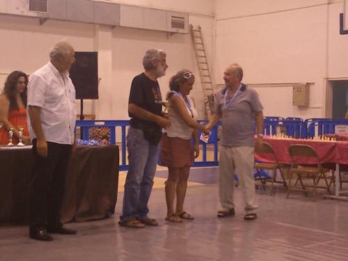 Διεθνές Σκακιστικό Τουρνουά Ίκαρος 2013 - Νικητής ο Γαζής, πρωταθλητές Αιγαίου Φρεντζάς - Κόντου